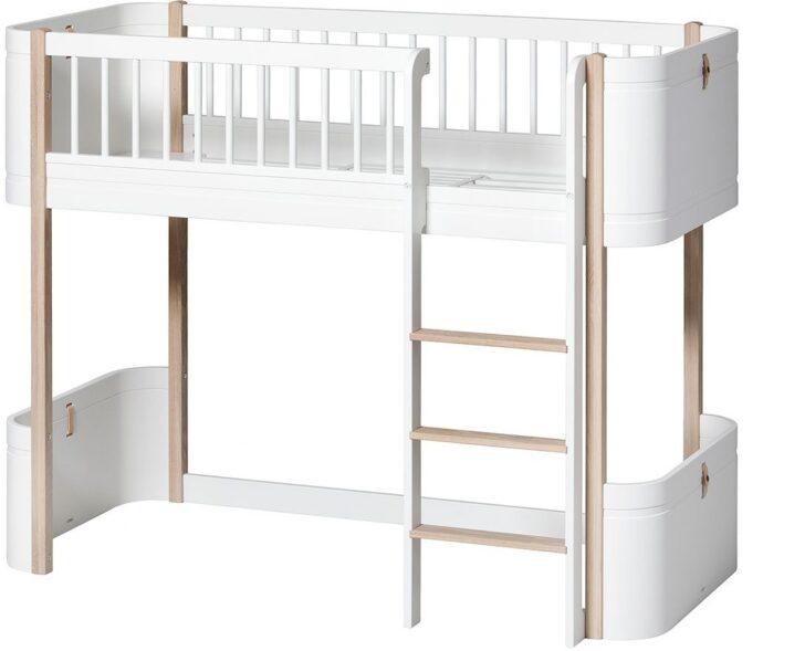 Medium Size of Halbhohes Hochbett Wood Mini Oliver Furniture Kleine Fabriek Bett Wohnzimmer Halbhohes Hochbett