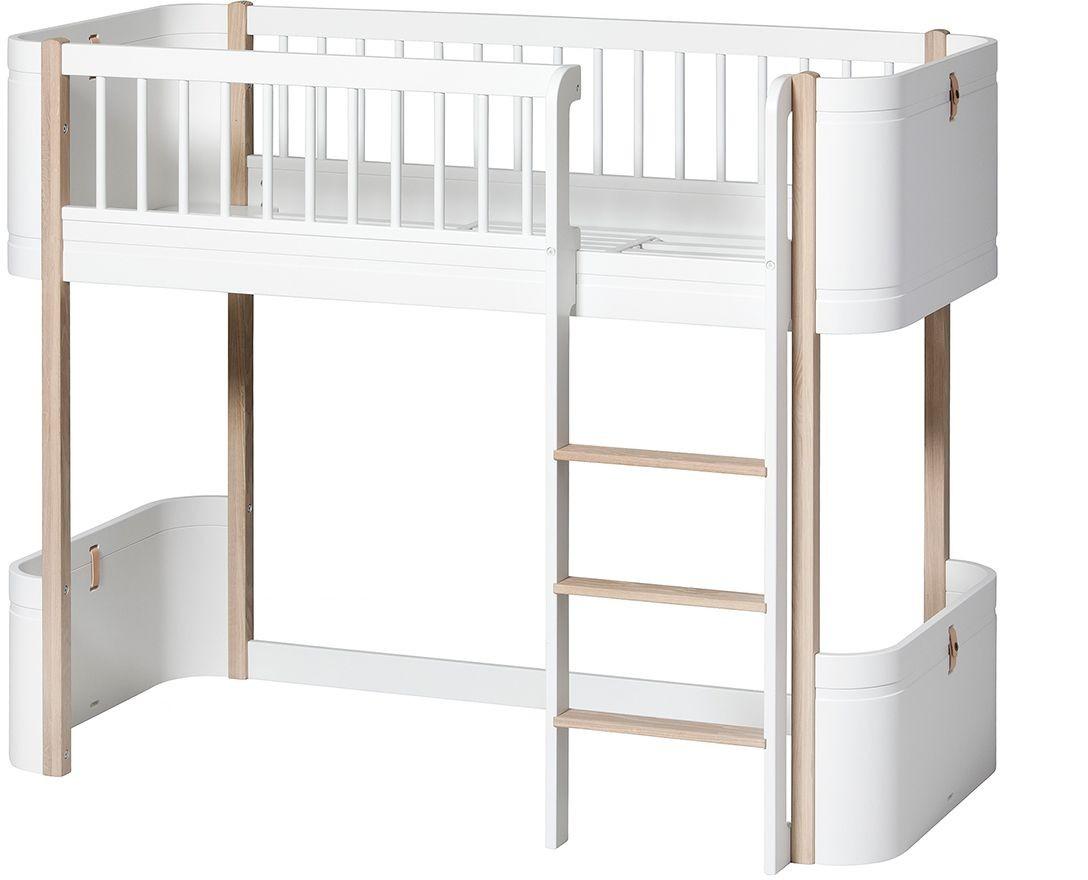 Full Size of Halbhohes Hochbett Wood Mini Oliver Furniture Kleine Fabriek Bett Wohnzimmer Halbhohes Hochbett