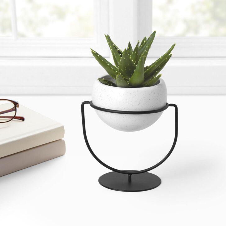 Medium Size of Umbra Nesta Pflanzenhalter Kräutertopf Küche Keramik Waschbecken Wohnzimmer Kräutertopf Keramik