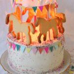 Küchenkarussell Karussell Torte Mit Pferdchen Saftige Mohntorte Pfirsich Wohnzimmer Küchenkarussell