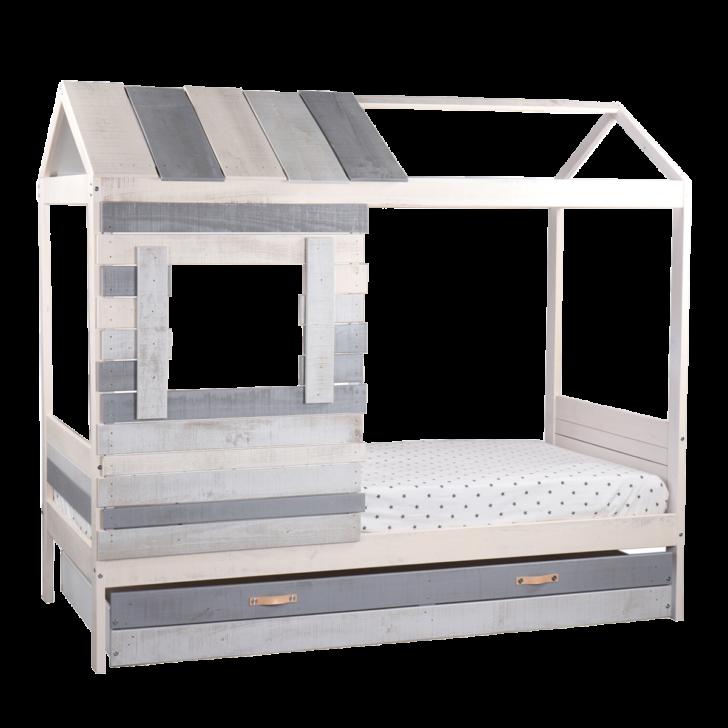 Medium Size of Kinderbett In Hausform Grau Wei Ca 90x200 Cm Spielbett Inkl Coole T Shirt Sprüche Betten T Shirt Wohnzimmer Coole Kinderbetten
