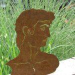 Gartenskulpturen Kaufen Schweiz Edelrost Bste David Metall Rostskulptur Metallfigur Küche Tipps Bett Aus Paletten Breaking Bad Einbauküche Betten Günstig Wohnzimmer Gartenskulpturen Kaufen Schweiz