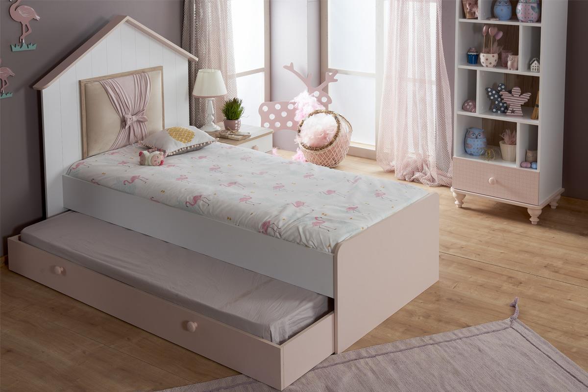 Full Size of Mädchenbetten Kinderbett Mdchen 120x200 Mit Kopfteil Online Furnart Wohnzimmer Mädchenbetten