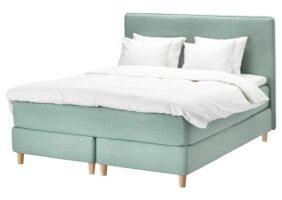 Ikea Hemnes Bett 160×200 Grau