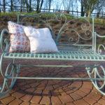 Metall Regal Bett Regale Weiß Wohnzimmer Gartenschaukel Metall