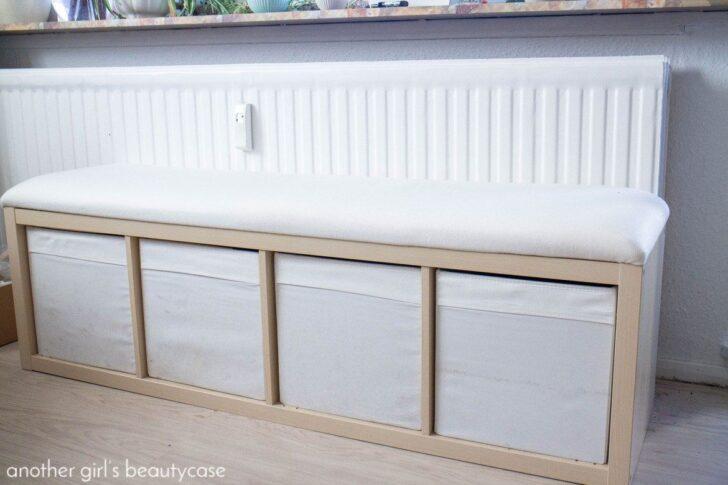 Ikea Hack Sitzbank Aus Kallaregal Mit Bildern Küche Kosten Betten 160x200 Modulküche Miniküche Bei Sofa Schlaffunktion Kaufen Wohnzimmer Ikea Küchenbank