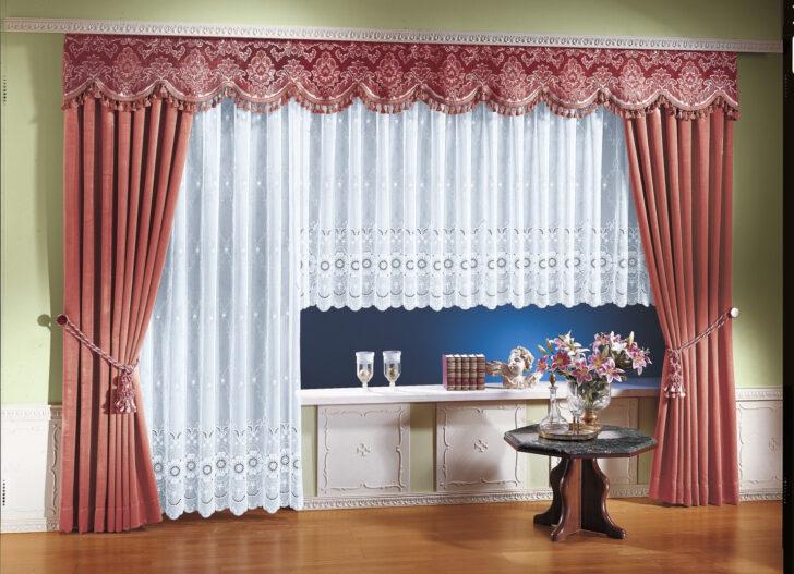 Medium Size of Gardinen Küche Für Die Schlafzimmer Wohnzimmer Fenster Scheibengardinen Wohnzimmer Gardinen Doppelfenster
