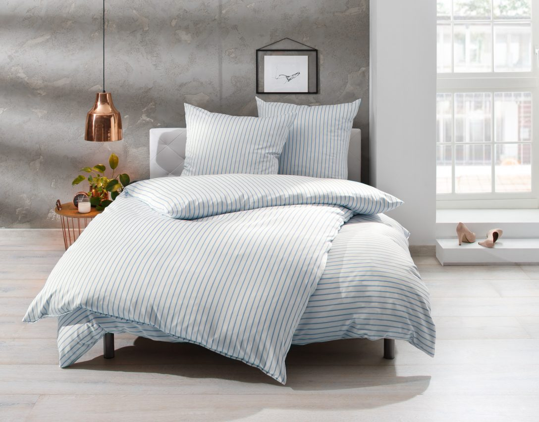 Large Size of Bettwsche 155x220 Streifen Blau 100 Baumwolle Jetzt Entdecken Bettwäsche Sprüche Wohnzimmer Bettwäsche 155x220