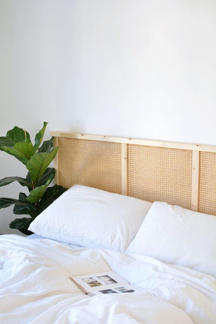 Medium Size of Diy Bett Kopfteil Cane Headboard Ikea Hack Gebrauchte Betten 190x90 Ohne 140x200 Poco Weiß 120x200 160x200 München Paletten Bettkasten 160x220 Wohnzimmer Diy Bett Kopfteil