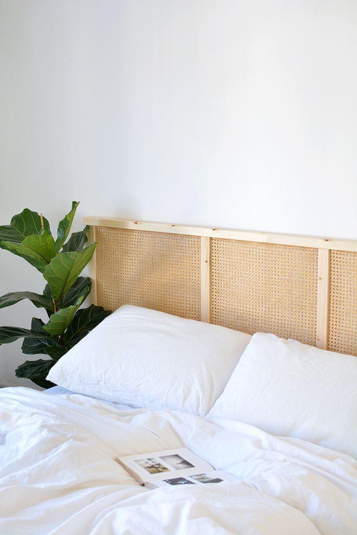 Full Size of Diy Bett Kopfteil Cane Headboard Ikea Hack Gebrauchte Betten 190x90 Ohne 140x200 Poco Weiß 120x200 160x200 München Paletten Bettkasten 160x220 Wohnzimmer Diy Bett Kopfteil