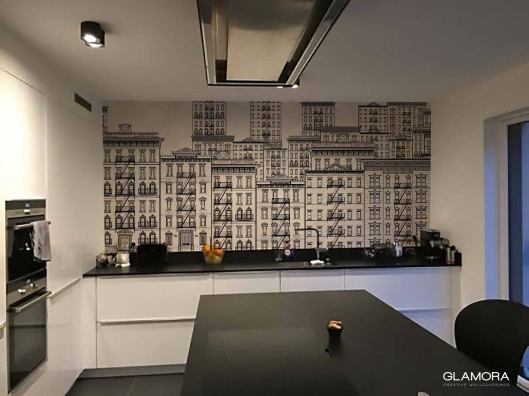 Large Size of Kchenspiegel Ohne Fliesen Laminat Im Bad Badezimmer Für Küche Fürs In Der Wohnzimmer Küchenrückwand Laminat