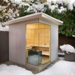 Bauen Sie Eine Outdoor Sauna Im Eigenen Garten Prakitsche Tipps Fenster Rolladen Nachträglich Einbauen Boxspring Bett Selber Velux Küche Planen Bodengleiche Wohnzimmer Außensauna Selber Bauen