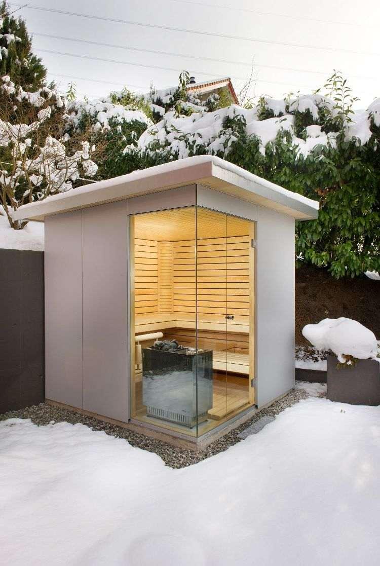 Full Size of Bauen Sie Eine Outdoor Sauna Im Eigenen Garten Prakitsche Tipps Fenster Rolladen Nachträglich Einbauen Boxspring Bett Selber Velux Küche Planen Bodengleiche Wohnzimmer Außensauna Selber Bauen