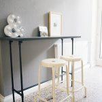 Ikea Bartisch Wohnzimmer Diy Bartisch Aus Installationsrohren Modulküche Ikea Miniküche Betten Bei Küche Kaufen Kosten Sofa Mit Schlaffunktion 160x200