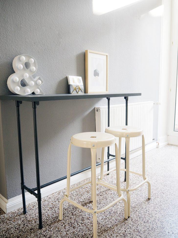 Medium Size of Diy Bartisch Aus Installationsrohren Modulküche Ikea Miniküche Betten Bei Küche Kaufen Kosten Sofa Mit Schlaffunktion 160x200 Wohnzimmer Ikea Bartisch