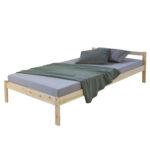 Weißes Bett 90x200 Mit Bettkasten Lattenrost Und Matratze Weiß Schubladen Kiefer Betten Wohnzimmer Jugendbett 90x200