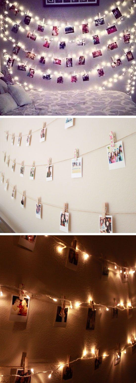Full Size of Deko Schlafzimmer Wand Polaroidwand Mit Lichterketten 24 Diy Teenager Mdchen Wohnzimmer Kommoden Wandsprüche Bett Rückwand Wandbilder Dusche Küche Glas Wohnzimmer Deko Schlafzimmer Wand