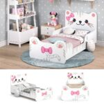 Mädchenbetten Vitalispa Kinderbett Izzy 80x160 Cm Wei Juniorbett Jugendbett Wohnzimmer Mädchenbetten