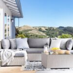 Couch Terrasse Wohnzimmer Designer Rattan Gartenmbel Lounge Rattanlounge Gnstig Sitzmbel