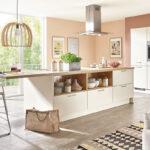 Fashion 175 Nobilia Küche Einbauküche Wohnzimmer Nobilia Magnolia