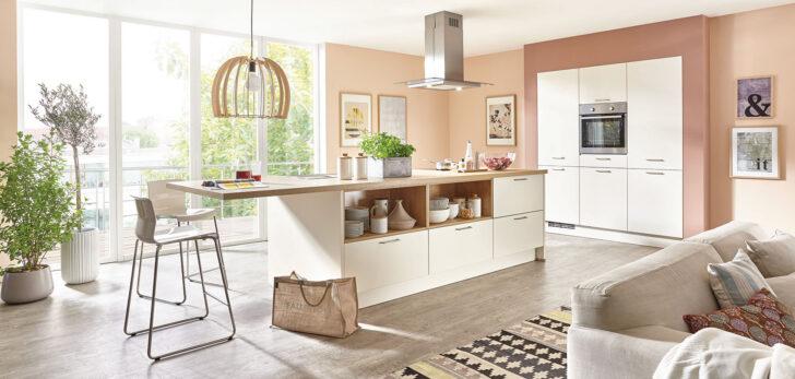 Medium Size of Fashion 175 Nobilia Küche Einbauküche Wohnzimmer Nobilia Magnolia