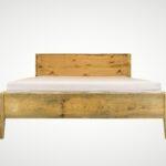 Bett Rückwand Holz Aus Bauholz Modell Zara Mit Kopfteil Nonconform Mbel Außergewöhnliche Betten Pinolino 200x200 Komforthöhe Halbhohes Alu Fenster Preise Wohnzimmer Bett Rückwand Holz