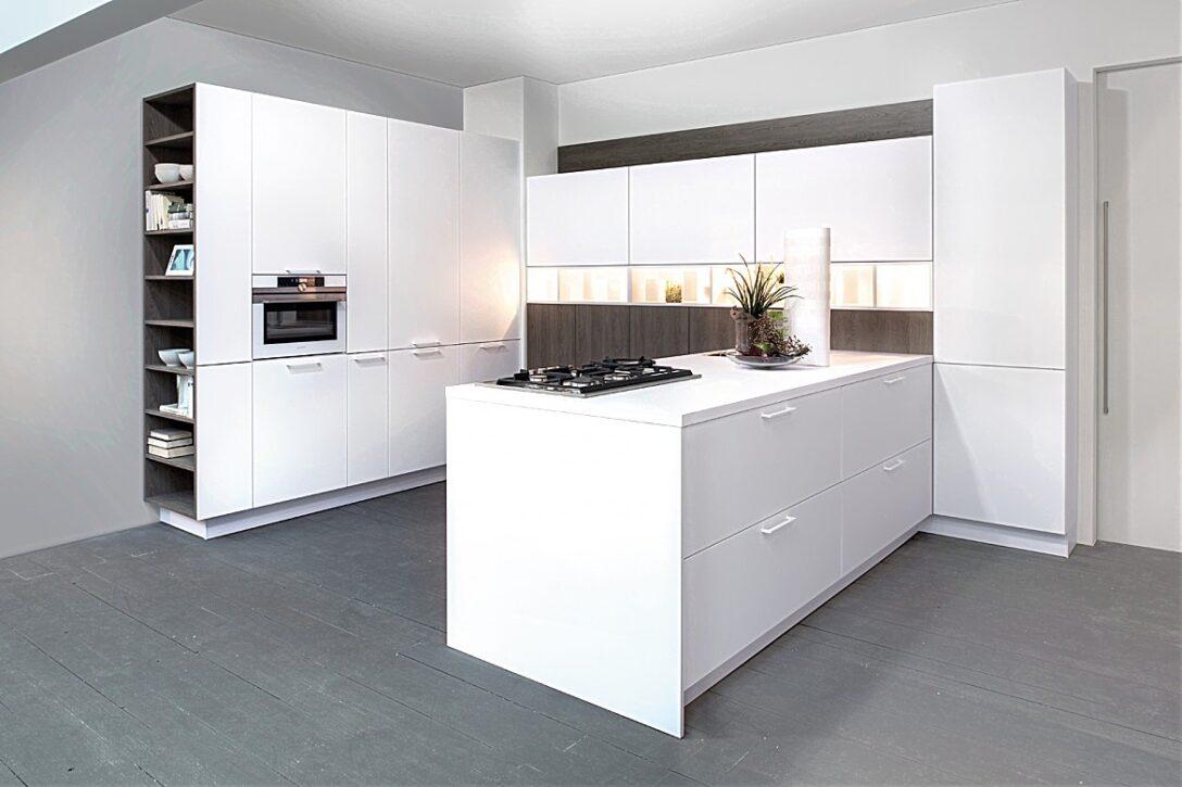 Large Size of Real Küchen U Kche Zerohpl Snow Zerogrey Oak Regal Wohnzimmer Real Küchen