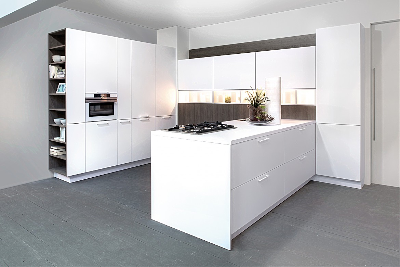 Full Size of Real Küchen U Kche Zerohpl Snow Zerogrey Oak Regal Wohnzimmer Real Küchen