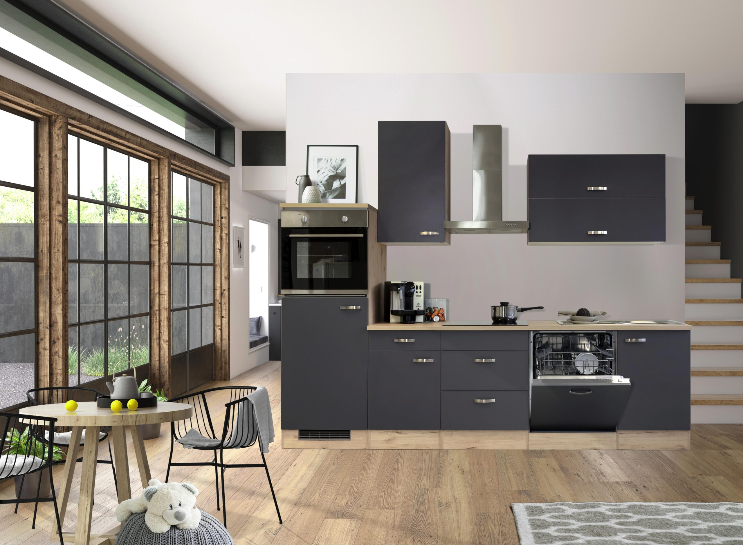 Full Size of Möbelix Küchen Unterschrank Mit Schubladen Fr Kche Kaufen Regal Wohnzimmer Möbelix Küchen