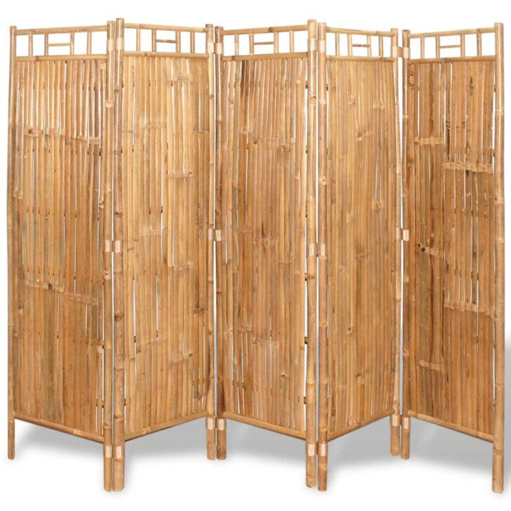 Medium Size of Vidaxl Raumteiler Bambus 5 Tlg 200x160 Cm Paravent Real Moderne Landhausküche Bett Mit Ausziehbett Spielhaus Garten Holz Badezimmer Ausstellung Esstisch Wohnzimmer Paravent Aus Weide