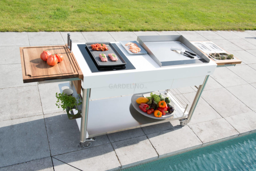 Large Size of Mobile Outdoorkchen Fr Garten Und Terrasse Küche Wohnzimmer Mobile Outdoorküche