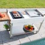 Mobile Outdoorkchen Fr Garten Und Terrasse Küche Wohnzimmer Mobile Outdoorküche