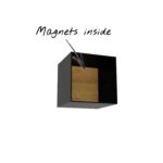 Wandregal Magic 6 Holz Bad Metall Regal Bett 180x200 Schwarz Weiß Küche Schwarzes Regale Schwarze Landhaus Wohnzimmer Wandregal Metall Schwarz