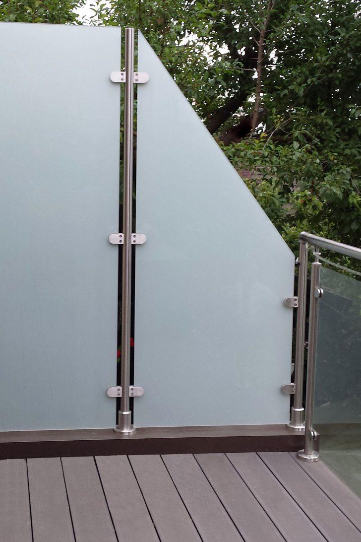 Medium Size of Trennwand Balkon Sichtschutz Metall Sondereigentum Plexiglas Ikea Ohne Bohren Garten Glastrennwand Dusche Wohnzimmer Trennwand Balkon