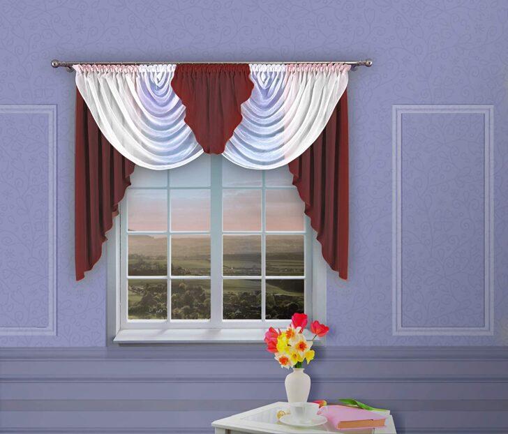 Medium Size of Bogen Gardinen Amazonde Home Decor Kurz Store Vorhang Knittern Für Wohnzimmer Fenster Bogenlampe Esstisch Schlafzimmer Küche Die Scheibengardinen Wohnzimmer Bogen Gardinen