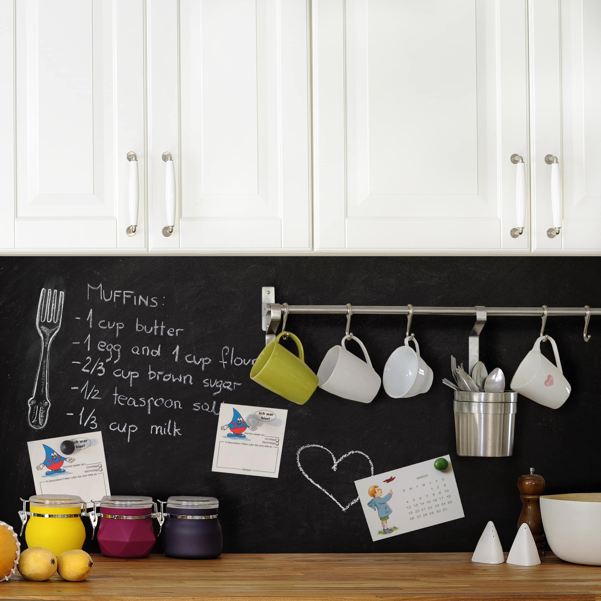 Full Size of Tafelfolie Magnetisch Memoboard Selbstklebend Kche Küche Wandpaneel Glas Einbau Mülleimer Einbauküche Kaufen Landhausküche Grau Sockelblende Led Wohnzimmer Memoboard Küche