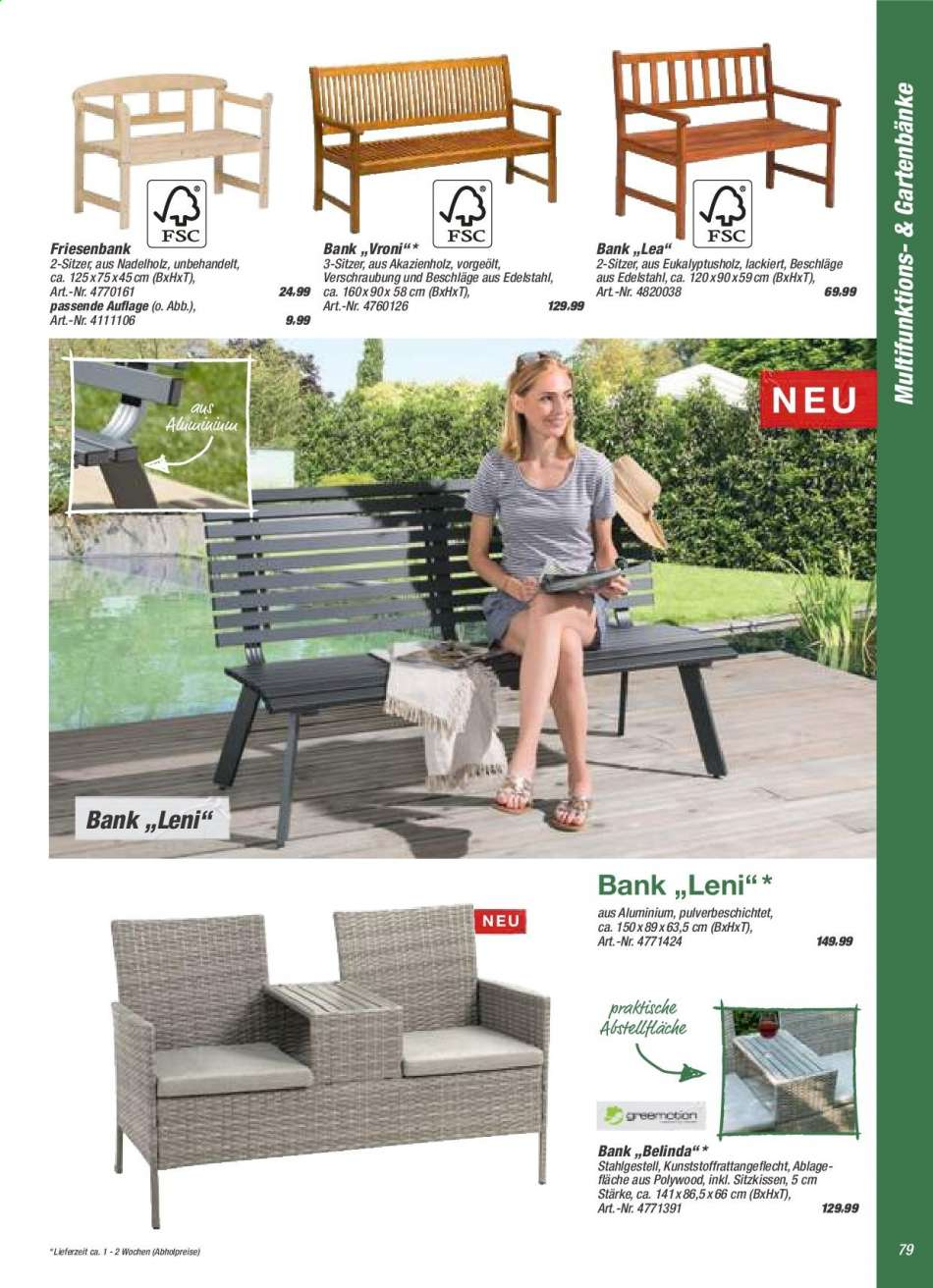 Full Size of Toom Baumarkt Aktuelle Prospekte Rabatt Kompass Relaxsessel Garten Aldi Wohnzimmer Aldi Gartenbank