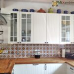 Fliesen Küche Wohnzimmer Fliesen Küche Einbauküche L Form Wasserhahn Wandanschluss Grau Hochglanz Kaufen Mit Elektrogeräten Ohne Kühlschrank Abfalleimer Apothekerschrank Tapete