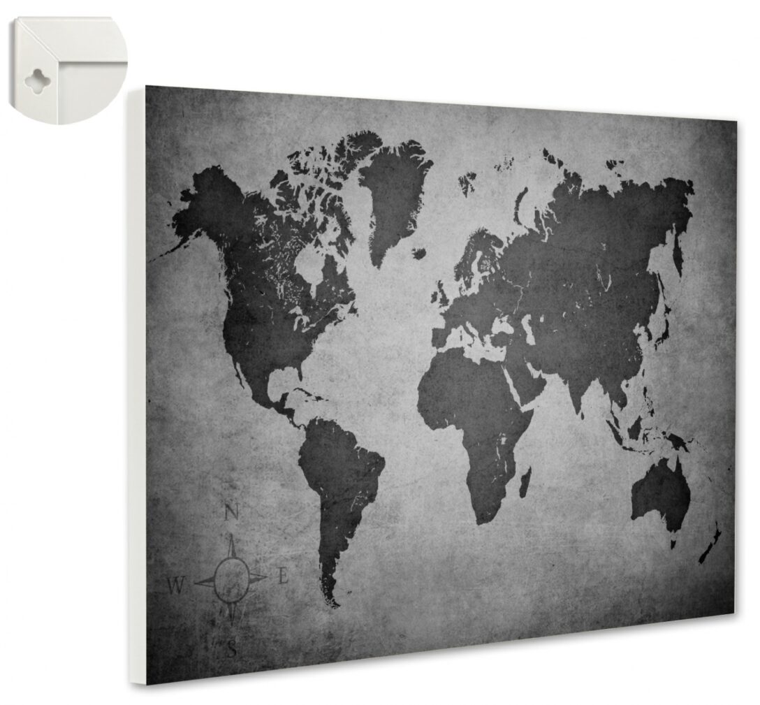 Large Size of Magnettafel Küche Vintage Weltkarte Ii Erde Memoboard Quer Magnetwand Holzküche Alno Arbeitsplatte Mit Kochinsel E Geräten Günstig Wandregal Lampen Wohnzimmer Magnettafel Küche Vintage