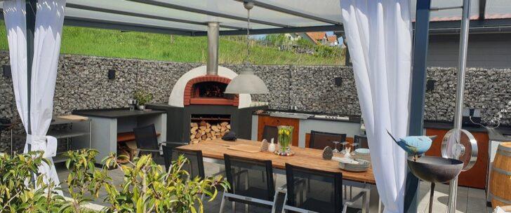Medium Size of Outdoor Kche Selber Bauen Und Entspannt Im Freien Kochen Eckküche Mit Elektrogeräten Schrankküche Küche Salamander Sockelblende Tresen Beistelltisch Wohnzimmer Edelstahl Outdoor Küche