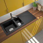 Spülbecken Küche Granit Kchensple Sple Einbausple Splbecken Kche 100 50 Grifflose Sitzecke Vorratsschrank Kaufen Ikea Sitzbank Amerikanische Eckschrank Wohnzimmer Spülbecken Küche Granit