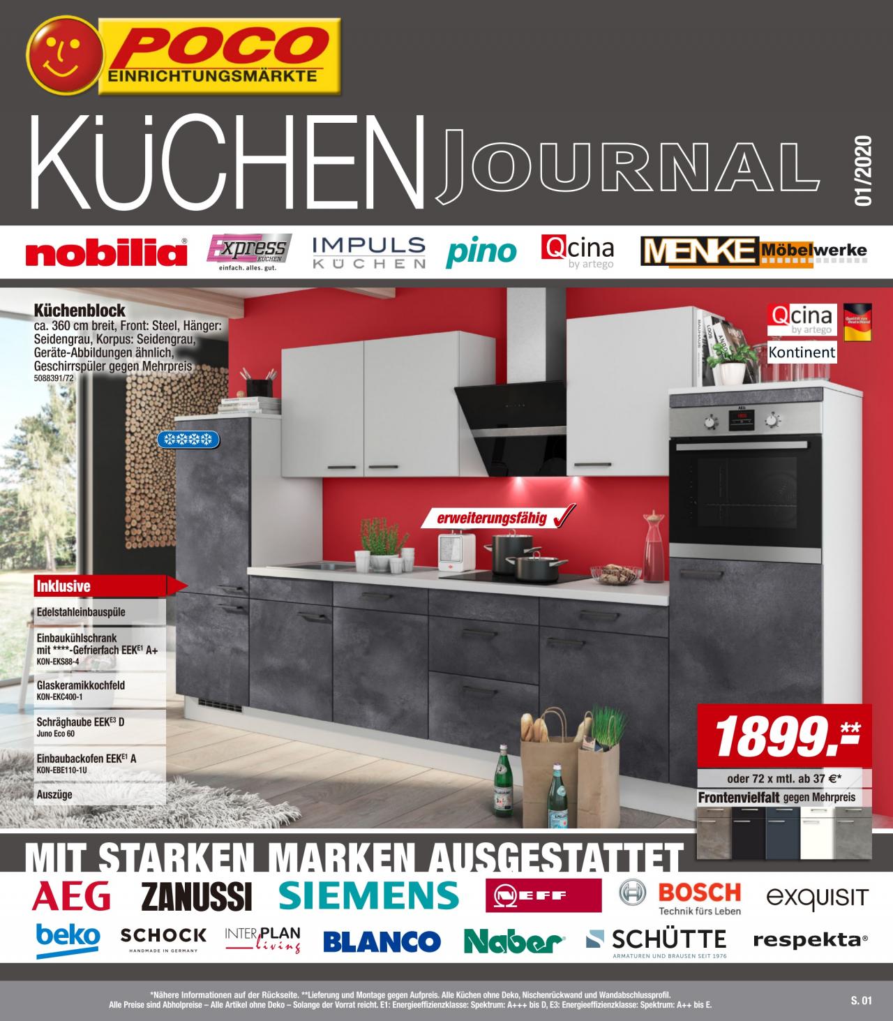 Full Size of Küchenzeile Poco Kchen Journal Vom 04 01 2020 Kupinode Küche Bett Big Sofa Betten Schlafzimmer Komplett 140x200 Wohnzimmer Küchenzeile Poco