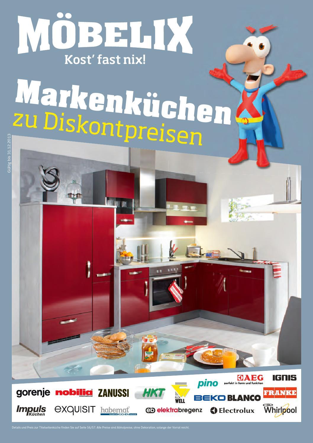 Full Size of Möbelix Küchen Mbelikatalog Gltig Bis 31 12 By Broshuri Regal Wohnzimmer Möbelix Küchen