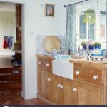 Küche Gardine Belfast Einsinken Ausgestattet Holz Einheit Unter Fenster Mit Blau Handtuchhalter Lampen Weiß Hochglanz Einbauküche L Form Kräutertopf Wohnzimmer Küche Gardine