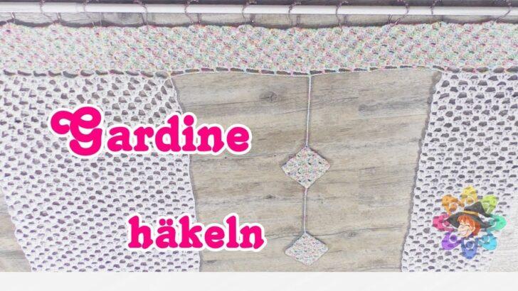 Medium Size of Gardine Schnell Und Einfach Hkeln Fr Anfnger Wohnzimmer Küchegardinen Häkeln Anleitung