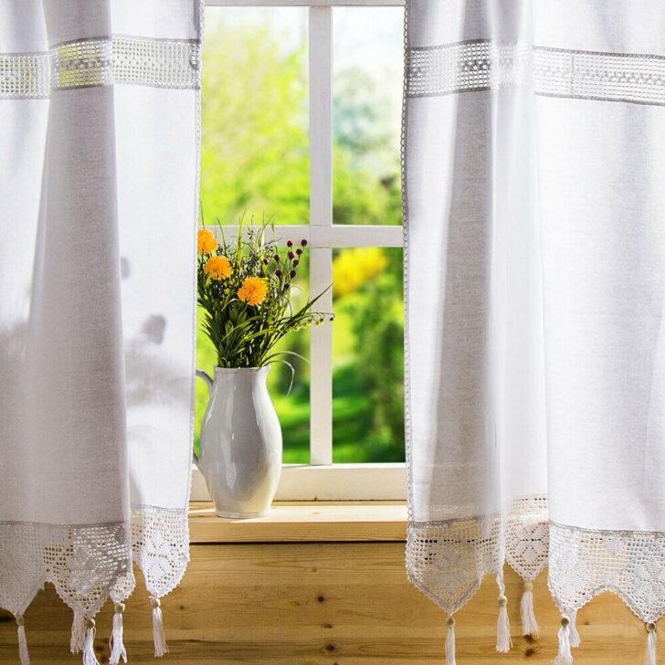 Medium Size of Küchenvorhang Fenstervorhang Mehr Als 200 Angebote Wohnzimmer Küchenvorhang