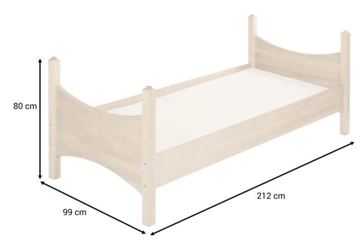 Medium Size of Kinderbett Mädchen 90x200 Bionoah Kiefer Wei Cm Bett Weiß Betten Weißes Mit Bettkasten Schubladen Lattenrost Wohnzimmer Kinderbett Mädchen 90x200