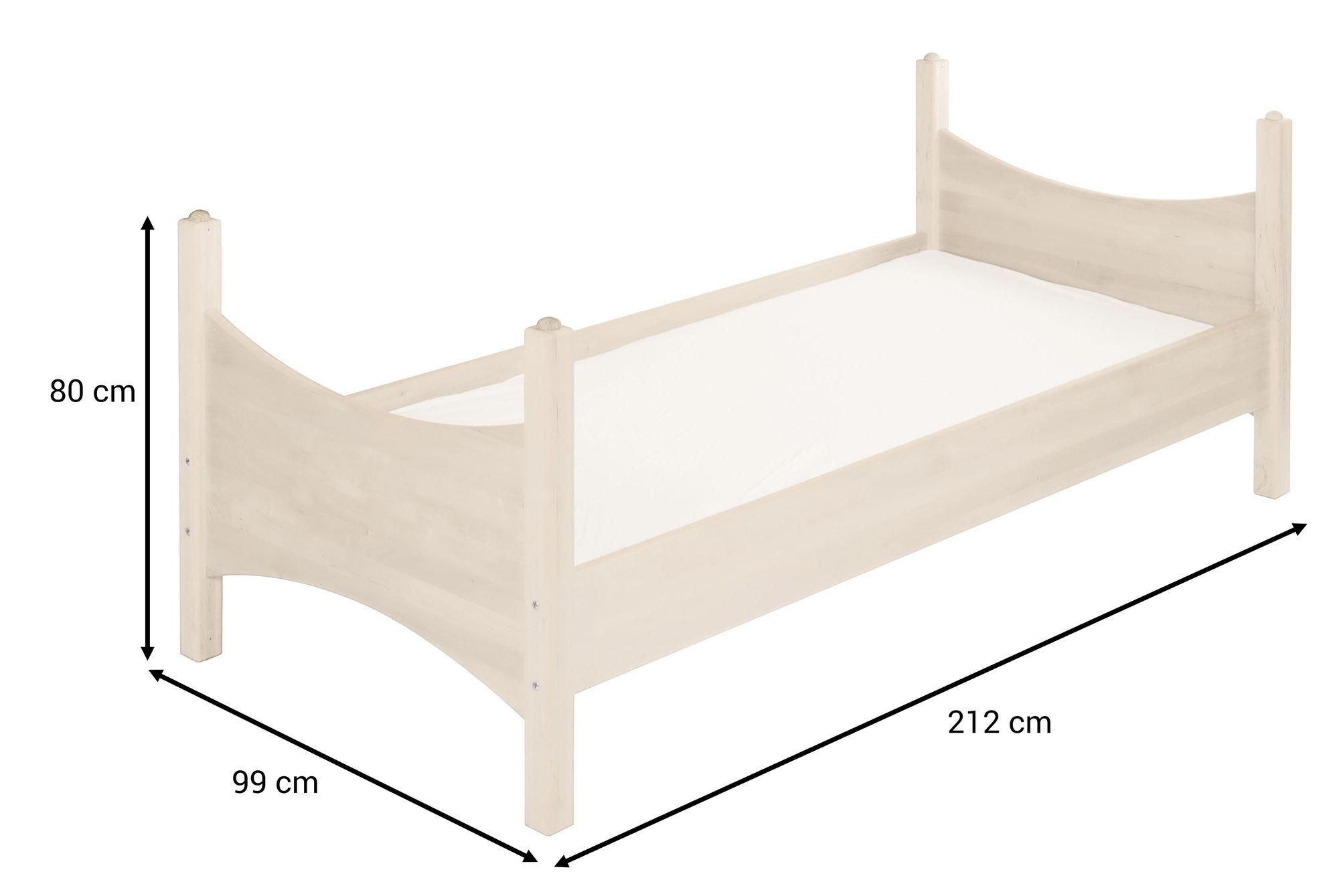 Full Size of Kinderbett Mädchen 90x200 Bionoah Kiefer Wei Cm Bett Weiß Betten Weißes Mit Bettkasten Schubladen Lattenrost Wohnzimmer Kinderbett Mädchen 90x200