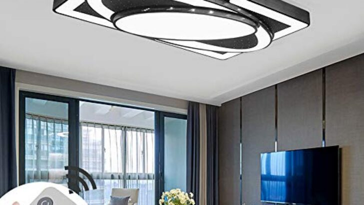 Medium Size of Deckenlampe Led Deckenleuchte 78w Wohnzimmer Lampe Modern Apothekerschrank Küche Gardinen Magnettafel Mintgrün Bodenfliesen Nobilia U Form Mit Theke Was Wohnzimmer Deckenlampe Küche Modern