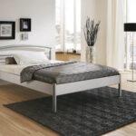 Schlichter Metallbett Julia Betten 100x200 Bett Weiß Wohnzimmer Metallbett 100x200